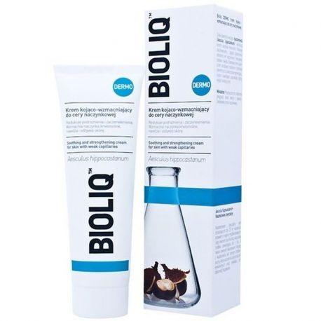 Bioliq Dermo * Krem kojąco - wzmacniający * cera naczynkowa - 50 ml * + zestaw próbek Bioliq GRATIS !
