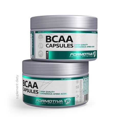 Formotiva BCAA Capsules * 120 kaps.