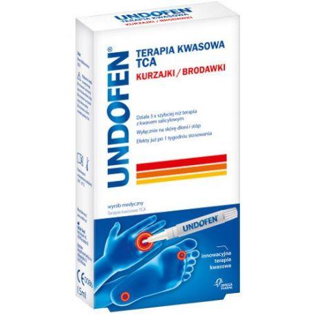 Undofen * Terapia kwasowa TCA * 1,5 ml