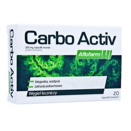 Carbo Activ Aflofarm * 20 kaps