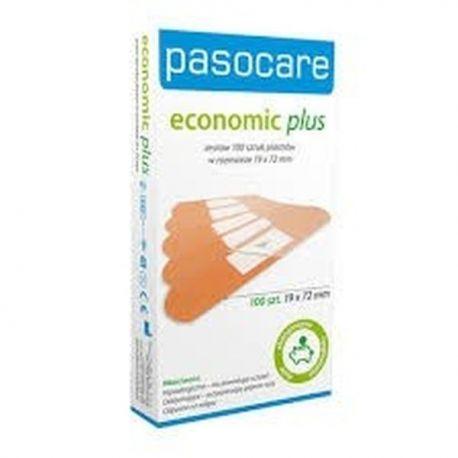 Pasocare Economic Plus Zestaw * rozm. -  2,5cm x 7,2cm - 100 szt
