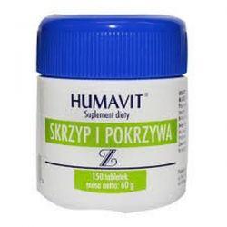 Humavit Z - drożdże piwne * skrzyp i pokrzywa * 250 tabletek