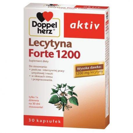 Doppelherz Aktiv * Lecytyna 1200 Forte * 30 kaps