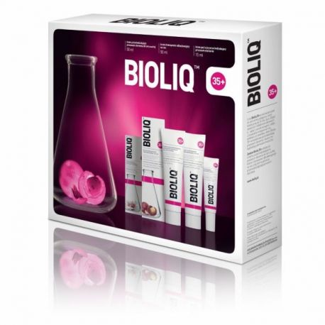 Bioliq 35+  Zestaw  CERA SUCHA *  Krem pod oczy - 15 ml * + Krem na dzień - 50 ml * + Krem  na noc - 50 ml *