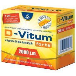 D-Vitum Forte 2000 j.m. * 120 kaps