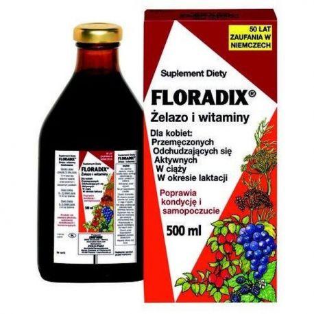 Floradix - Żelazo i Witaminy * 500 ml