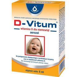 D-Vitum - areozol * Witamina D dla niemowląt * 6 ml