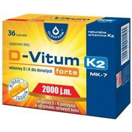 D-Vitum Forte 1000 * 36 kaps
