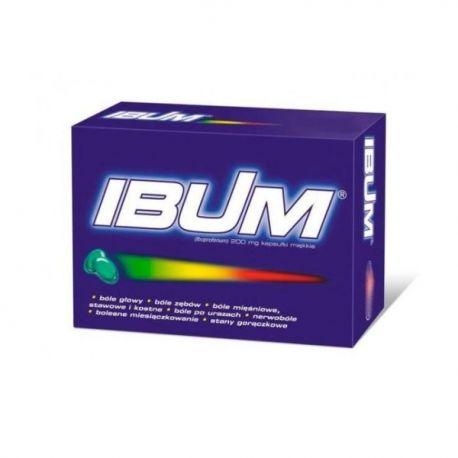 Ibum 0,2 g * 10 kapsułek