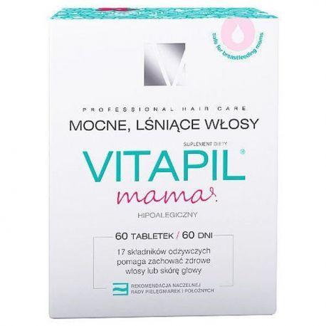 Vitapil - Mama * Mocne,lśniące włosy * 60 tabletek