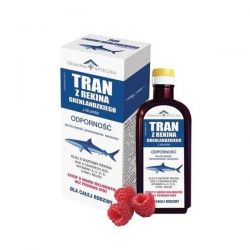 Tran Grenlandzki - smak malinowy * 250 ml