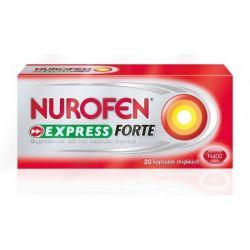 Nurofen Express Forte - 400 mg * 20 kapsułek