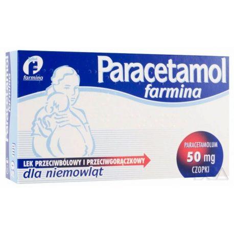 Paracetamol 50 mg - czopki * 10 szt