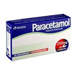Paracetamol 250 mg - czopki * 10 szt