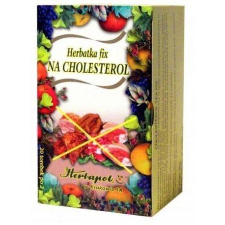 Herbapol * Herbatka fix - na cholesterol * 20 saszetek