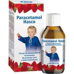 Paracetamol Hasco - zawiesina * o smaku truskawkowym * 150 g