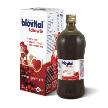 Biovital tonik * 1 litr * + Opakowanie okolicznościowe * GRATIS!