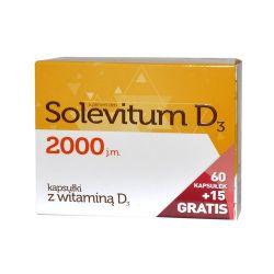 Solevitum D3 2000 * 75 kapsułek