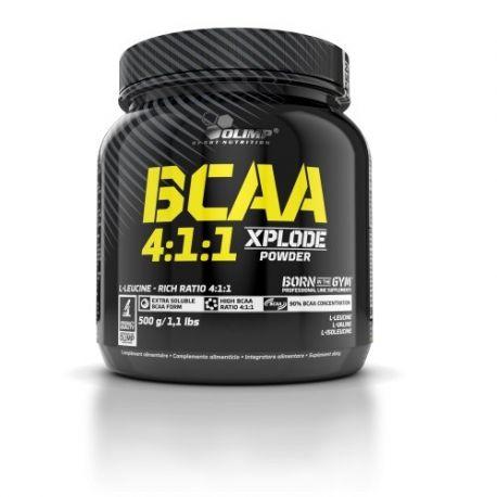 Olimp BCAA Xplode Powder 4:1:1 * Fruit Punch*  500g