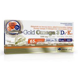 OLIMP Gold Omega 3 D3+K2 * 30 kapsułek
