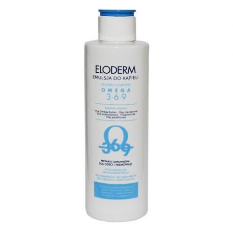 Eloderm * emulsja do kąpieli * 200 ml
