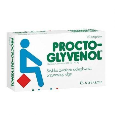 Procto - Glyvenol * Czopki - 10 szt