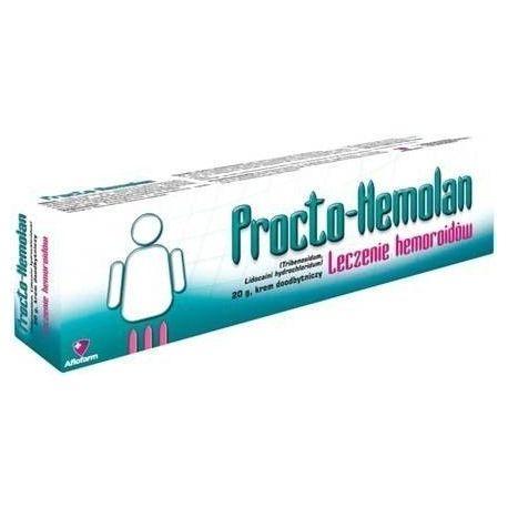 Procto Hemolan * Krem doodbytniczy * 20 g