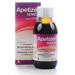 Apetizer senior - syrop * malinowo - porzeczkowy * 100 ml