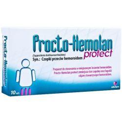 Procto Hemolan Protect - czopki * 10 szt