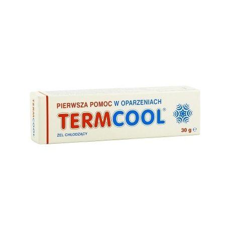 Termcool -Żel chłodzący 1 * pomoc w oparzeniach * 30 g