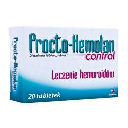 Procto Hemolan Control - 1 g * 20 tabl