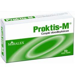 Proktis - M czopki * 10 szt