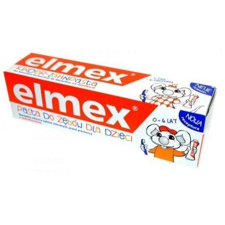 Elmex * pasta do zębów dla dzieci (0-6) * 50 ml