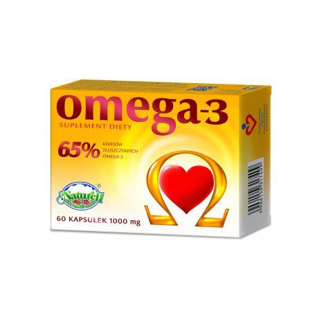 Omega - 3 65% * 60 kapsułek