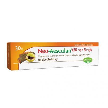 Neo-Aesculan * Żel doodbytniczy * 30 g