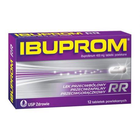 Ibuprom RR 400 mg * 12 tabletek