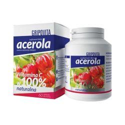 Acerola Gripovita * tabletki do ssania * 60 sztuk
