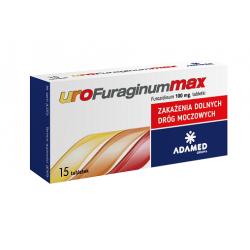 Urofuraginum Max - 100 mg * 15 tabletek