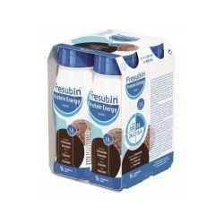 Frusebin Protein Energy Drink 8 płyn  o smaku czekoladowym * 4 sztuki po 200 ml