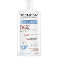 Dermedic Capilarte - szampon * Kuracja stymulująca  wzrost włosów * 300 ml