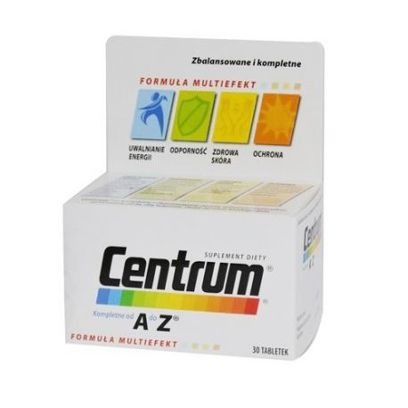 Centrum od A do Z * 30 tabletek