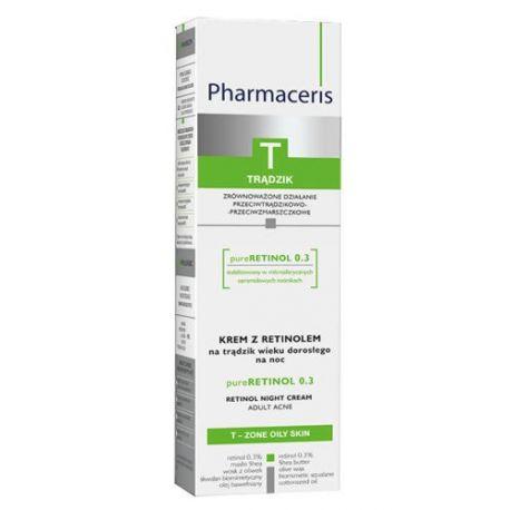 Pharmaceris T Pureretinol * krem z retinolem * 40 ml