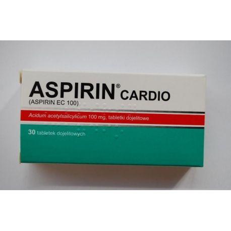 Aspirin Cardio * 100 mg * 30 tabletek