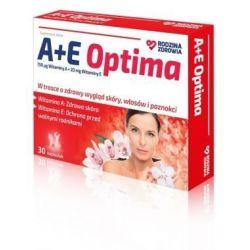 Rodzina Zdrowia - A+E Optima * 30 kapsułek
