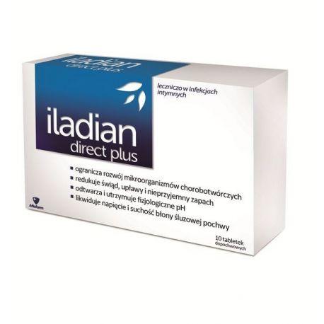 Iladian Direct Plus * Tabletki dopochwowe - 10 szt