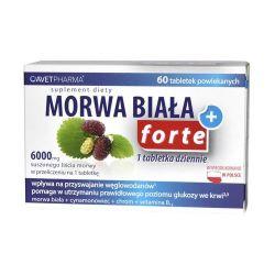 Morwa Biała Plus Forte* 60 tabletek
