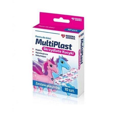 Rodzina Zdrowia - Multi Plast * plastry kucyki * 10 sztuk