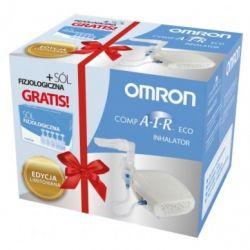 Omron Inhalator Compair Eco -ZESTAW z solą fizjologiczną