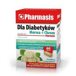 Pharmasis Dla Diabetyków * morwa + chrom * 60 tabletek