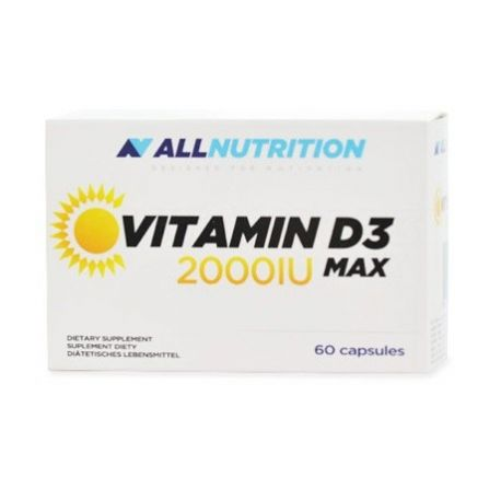 AllNutrition Vitamin D3 2000j MAX * 60 tabl.